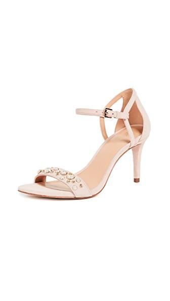 Michael Michael Kors Simone Mid Sandals In Soft Pink