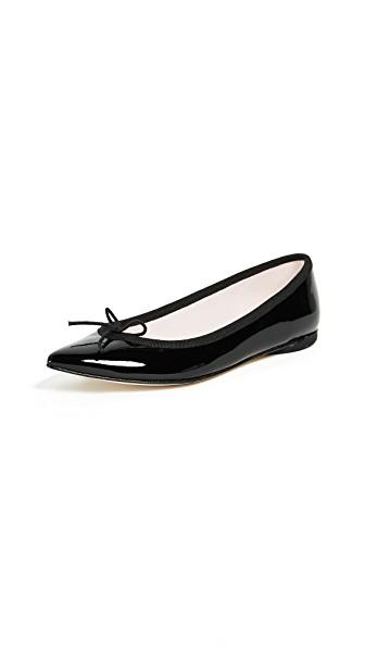 lower price with various colors arrives Repetto Brigitte Pointed Toe Ballet Flats In Black | ModeSens