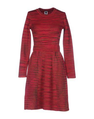 M Missoni Short Dress In Garnet