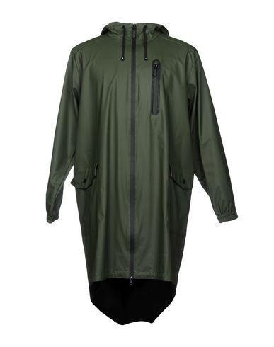 Rains Overcoats In Military Green