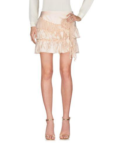 Scervino Street Mini Skirt In Beige