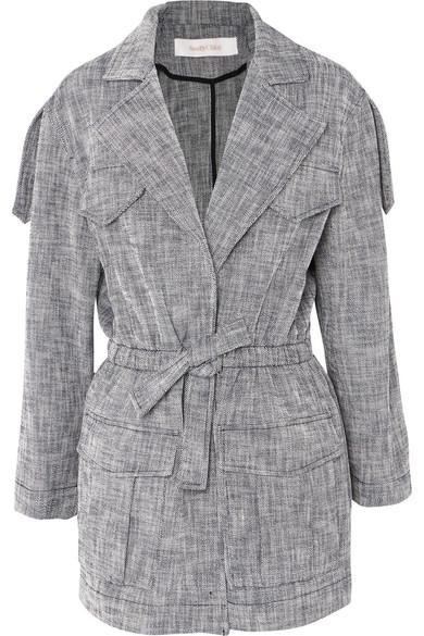 See By ChloÉ Drawstring Cotton-blend Jacket In Navy