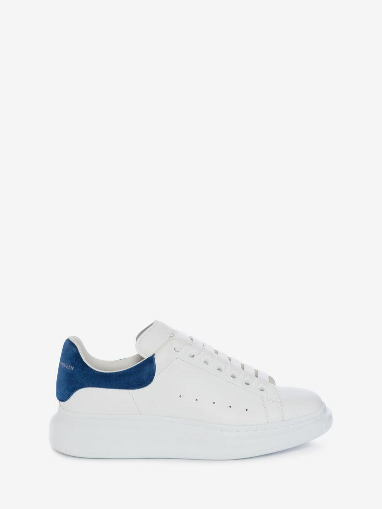 Alexander Mcqueen Raised-sole Low-top Leather Trainers In White Multi