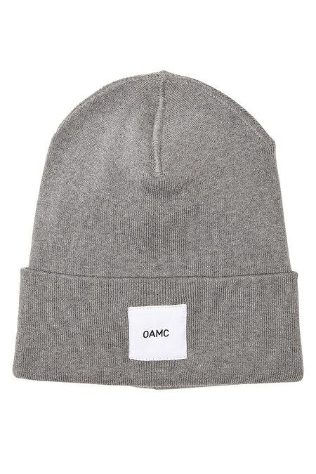 Oamc Cotton Hat In Grey