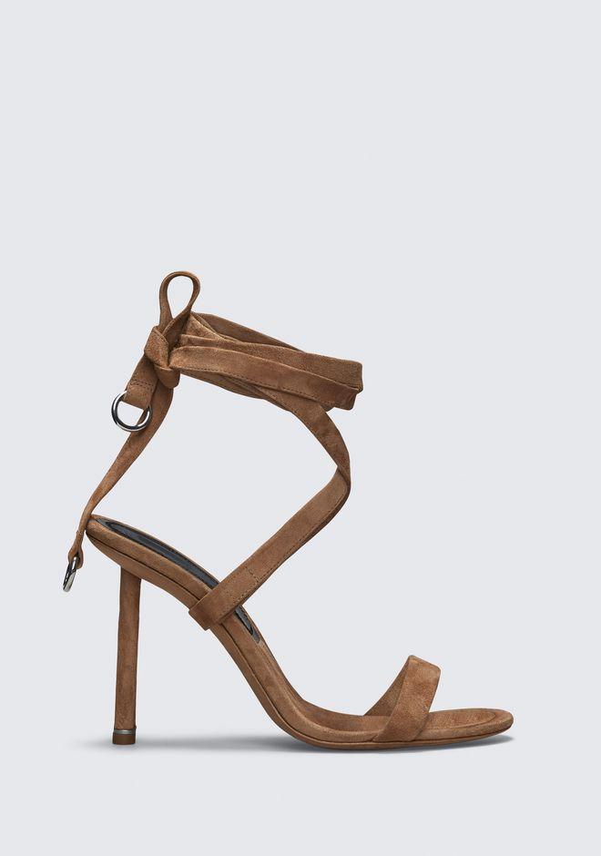 Alexander Wang Evie High Heel Sandal In Brown