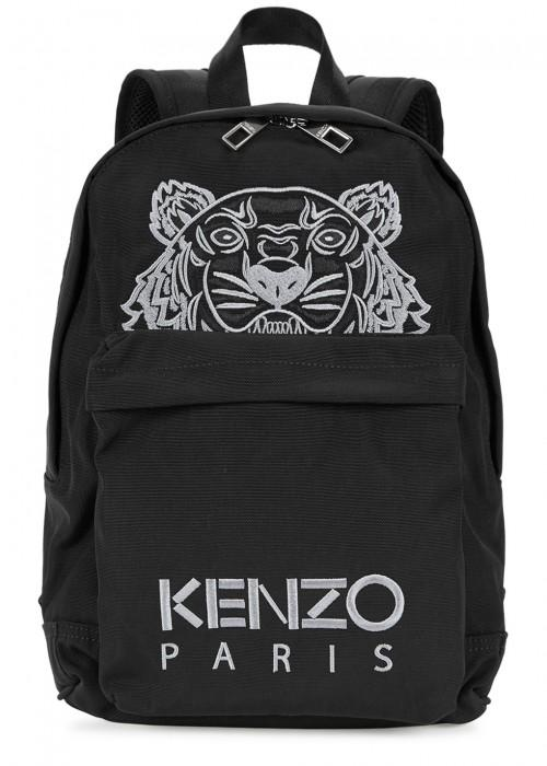 Kenzo Small Black Tiger Backpack