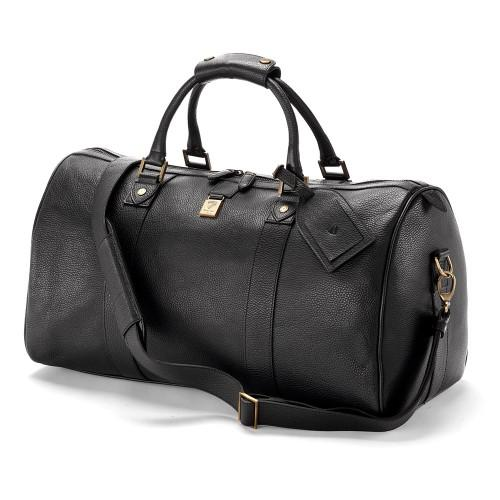 Aspinal Of London Boston Bag Black Deer