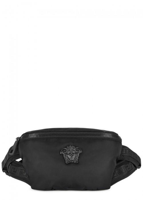 Versace Black Medusa Belt Bag