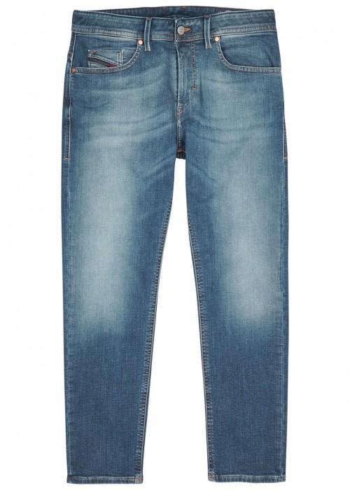Diesel Thommer 084ru Slim-leg Jeans In Mid Blu