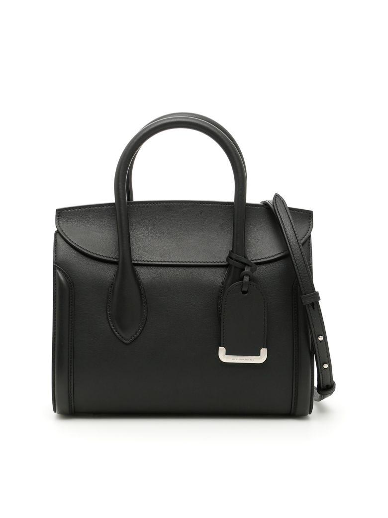 Alexander Mcqueen Leather Heroine 30 Bag In Bag Heroine 30