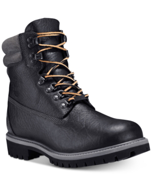 "Timberland Men's 640 Below 6"" Waterproof Boots Men's Shoes In Black"