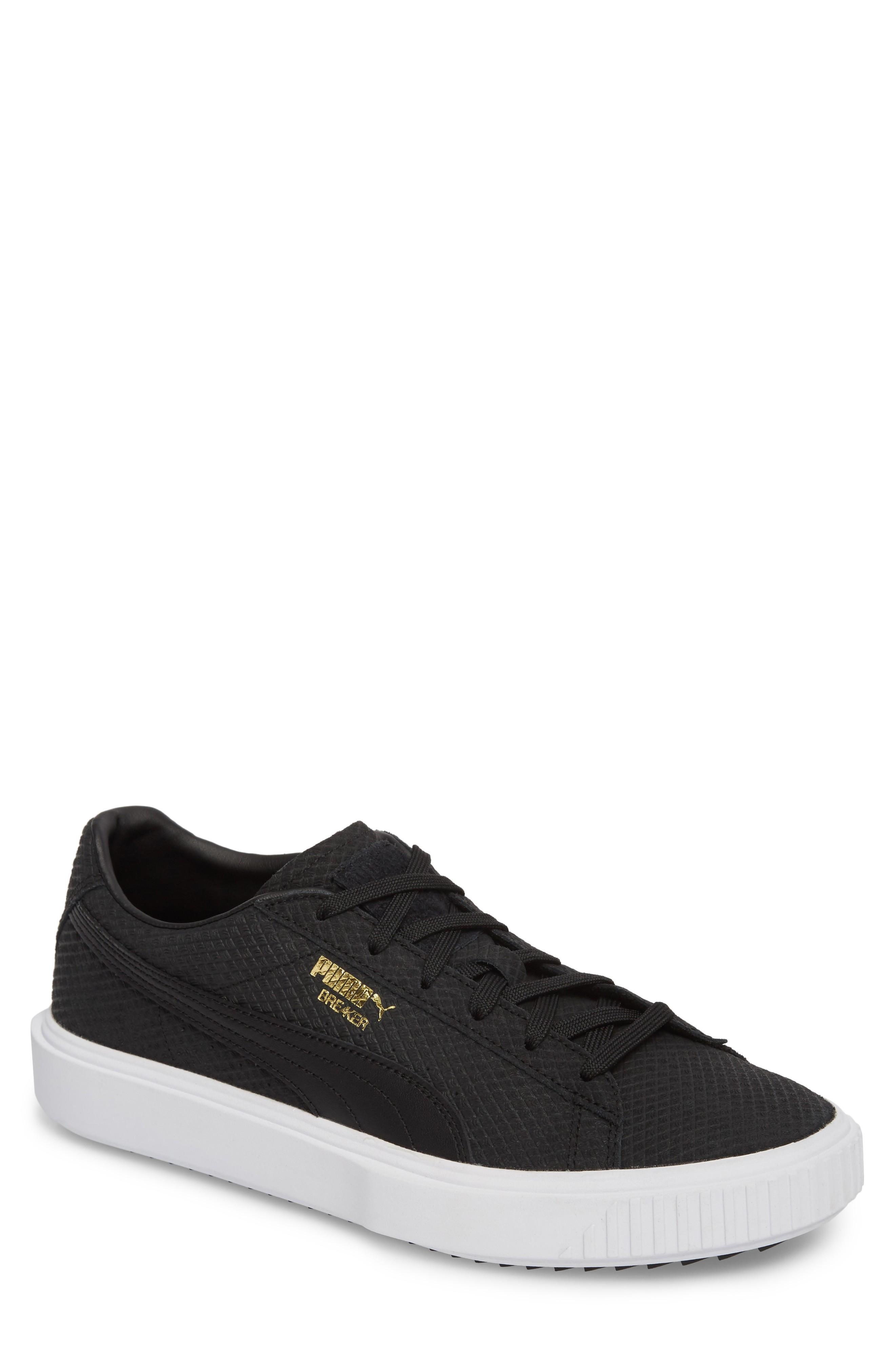 Puma Breaker Sneaker In Black