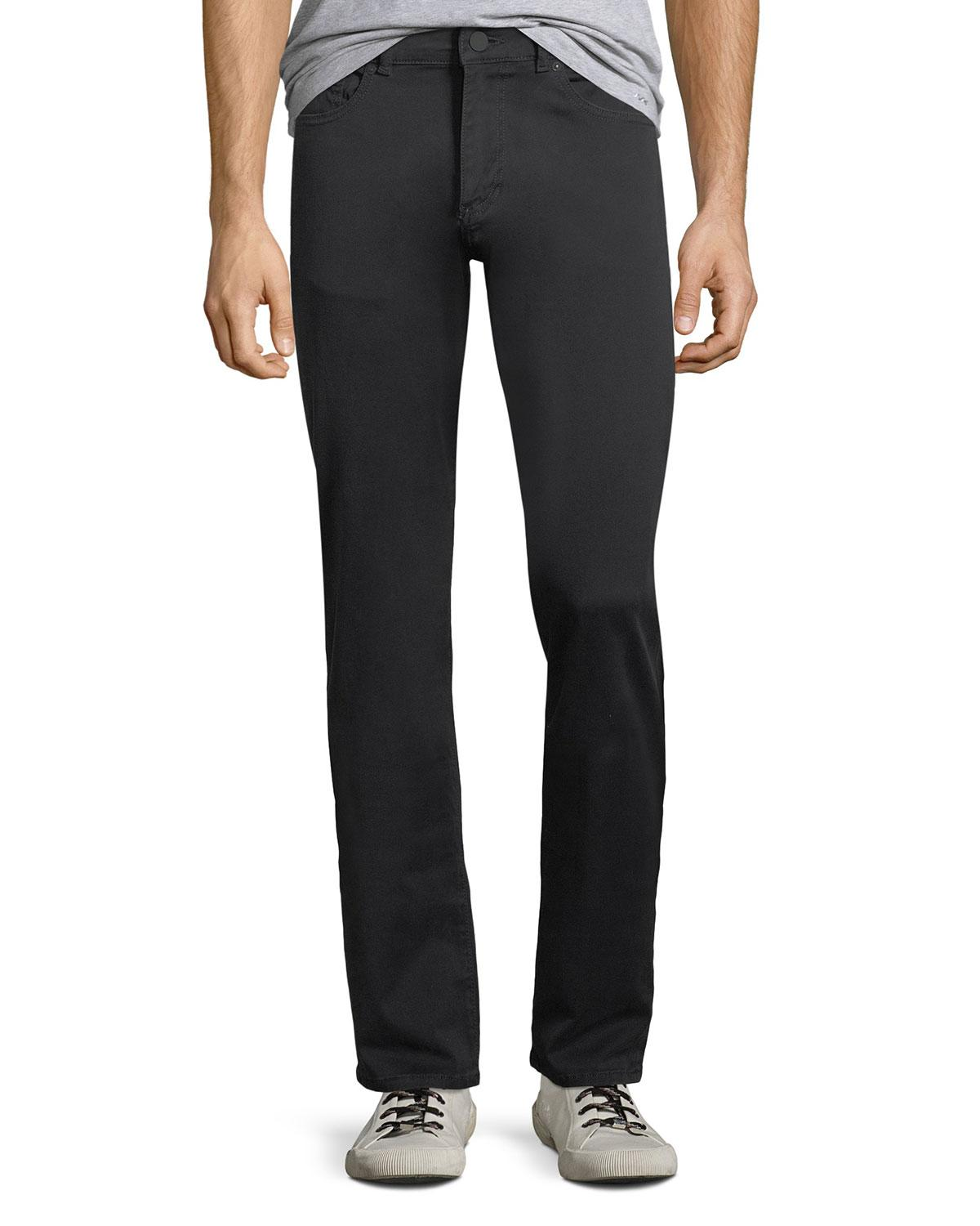 Dl 1961 Russell Slim Fit Sateen Twill Pants In Coast