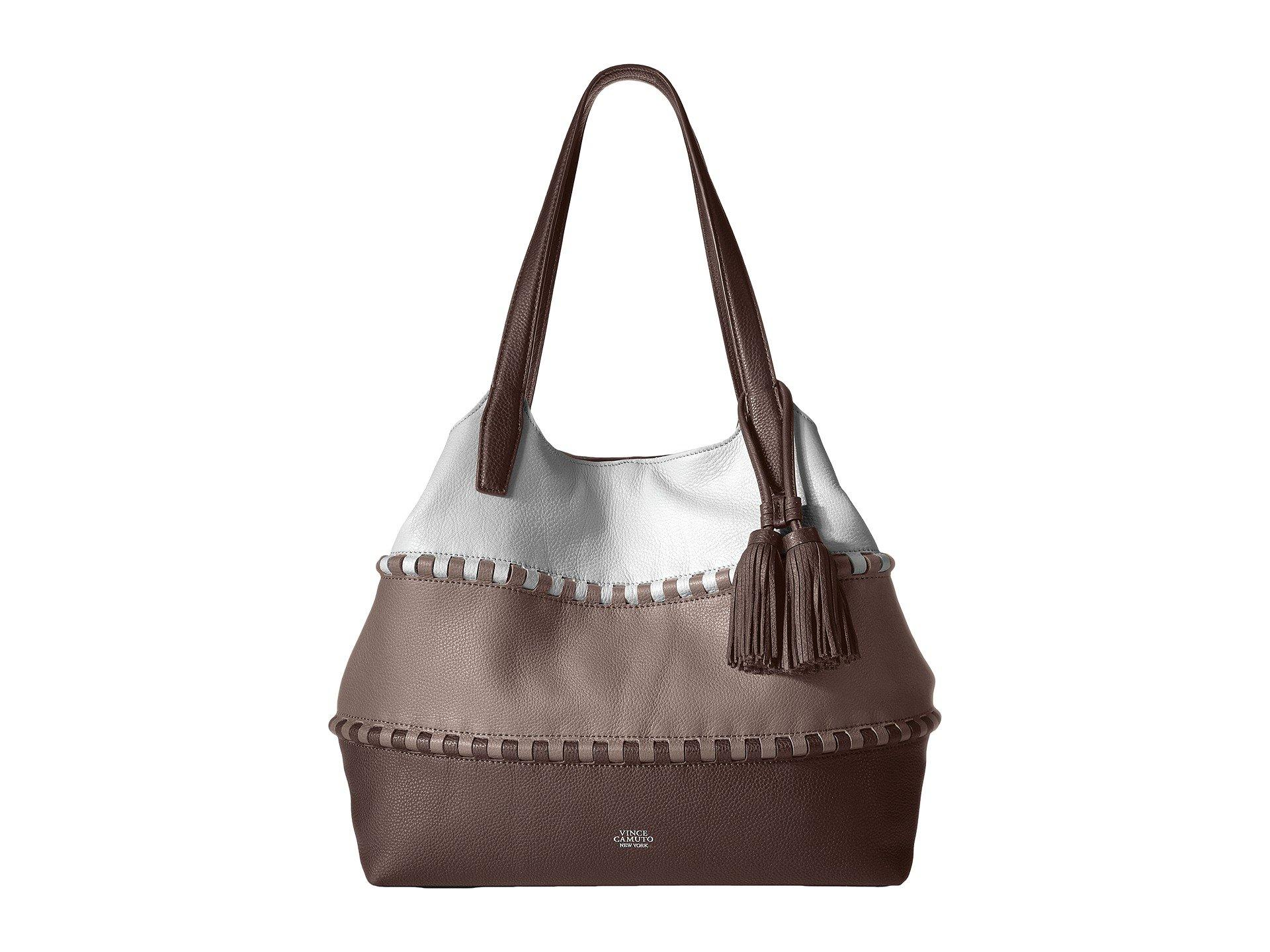Vince Camuto Edena Tote In Elephant/driftwood