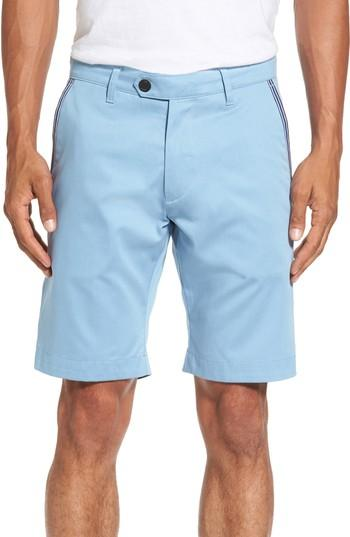 Ted Baker Golf Shorts In Light Blue