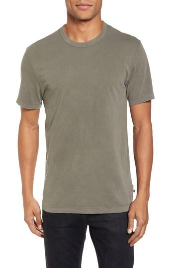 James Perse Crewneck Jersey T-shirt In Shale Pigment