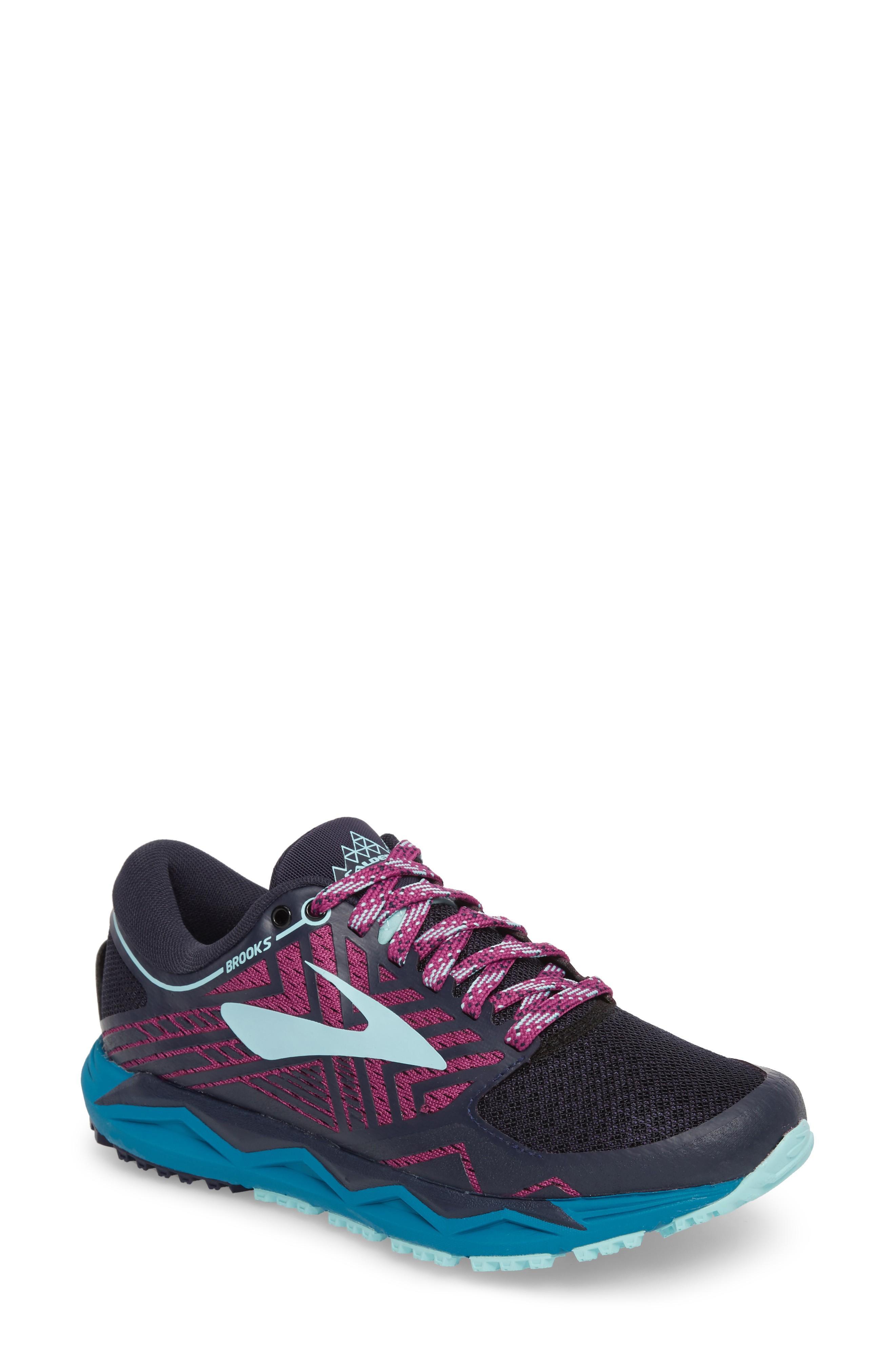 7689695d5b3 Brooks Caldera 2 Trail Running Shoe In Navy  Plum  Ice Blue