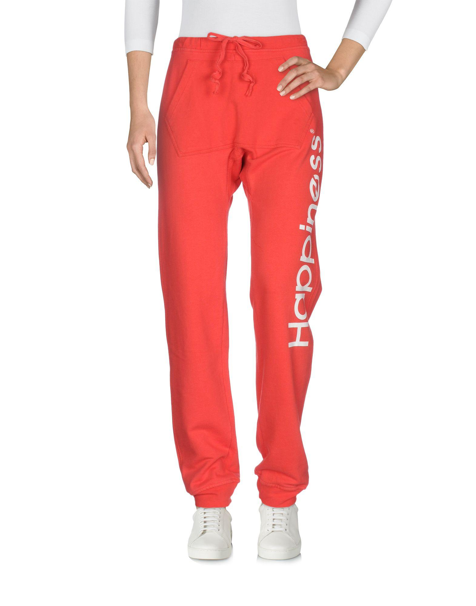 Happiness Casual Pants In Red