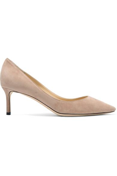 cute delicate colors for whole family Jimmy Choo Romy 60 Suede Pumps In Beige | ModeSens