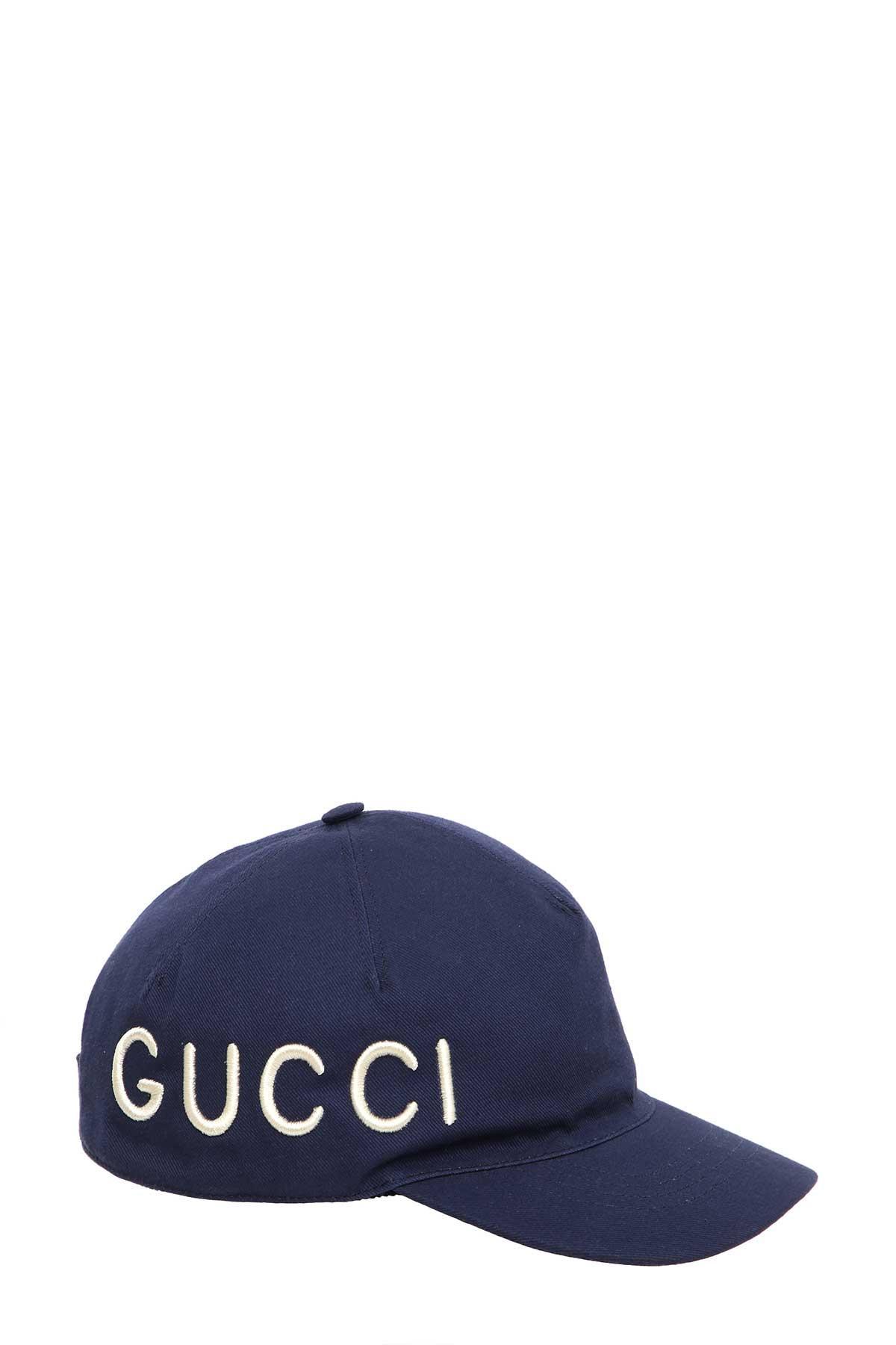 fddd47477d8 Gucci Baseball Cap In Navy
