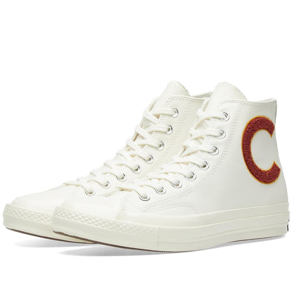 ba16bb6a2e3104 Converse Chuck Taylor All Star Wordmark High Top Sneaker In Navy Leather