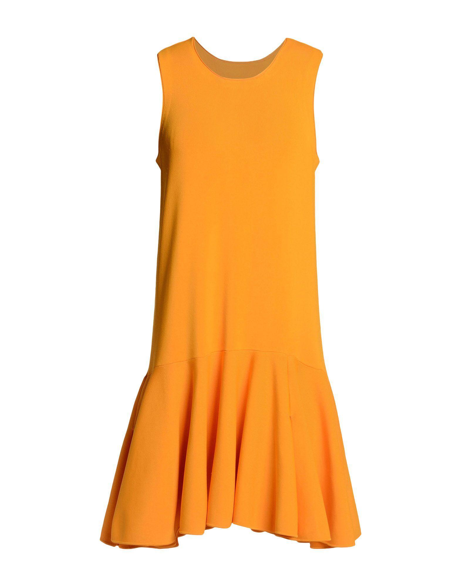 Issa Short Dress In Orange