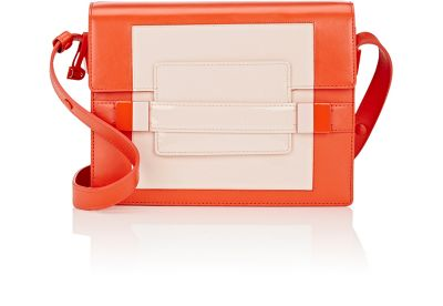 Delvaux Madame Pm Leather Shoulder Bag In Red