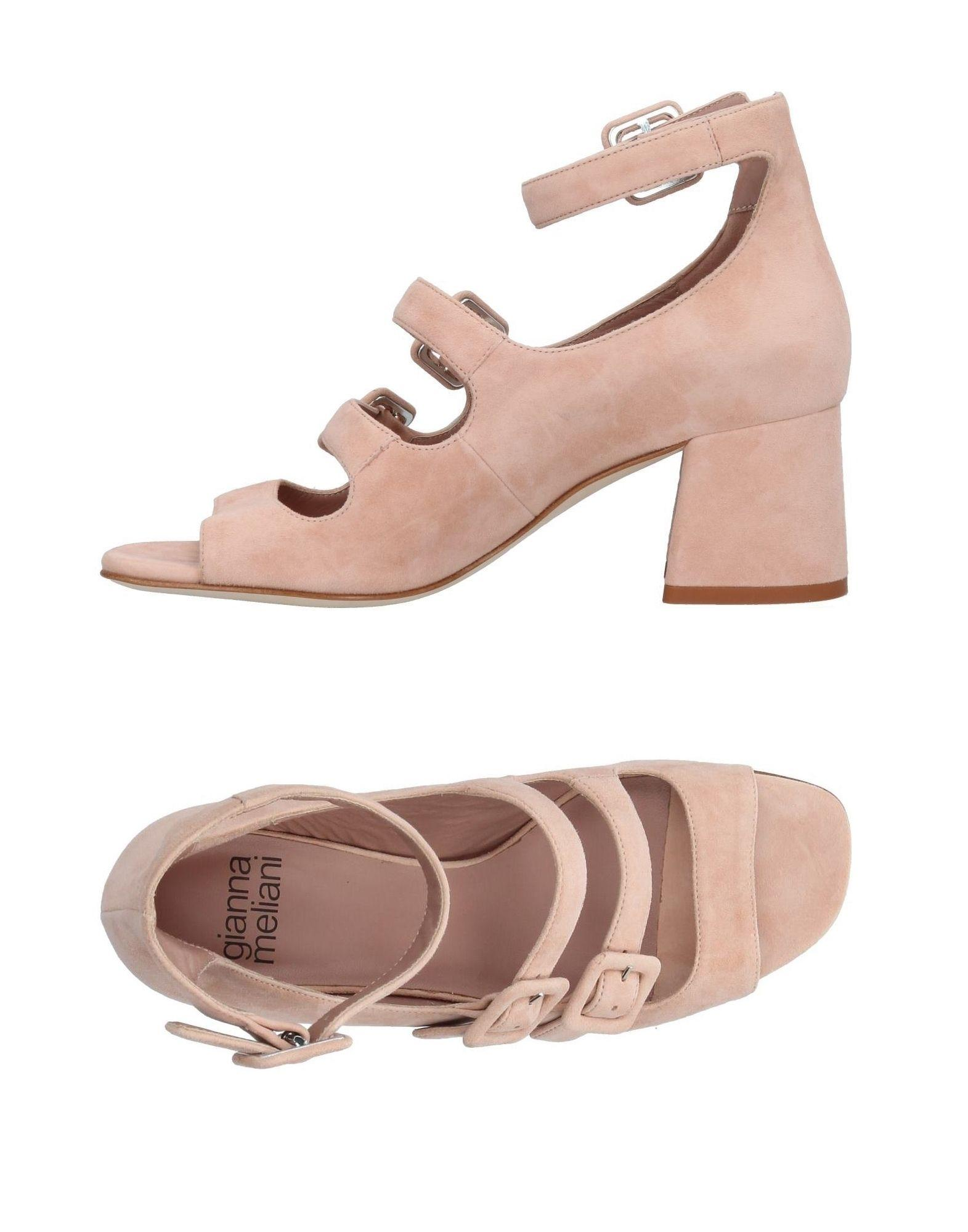 Gianna Meliani Sandals In Pale Pink