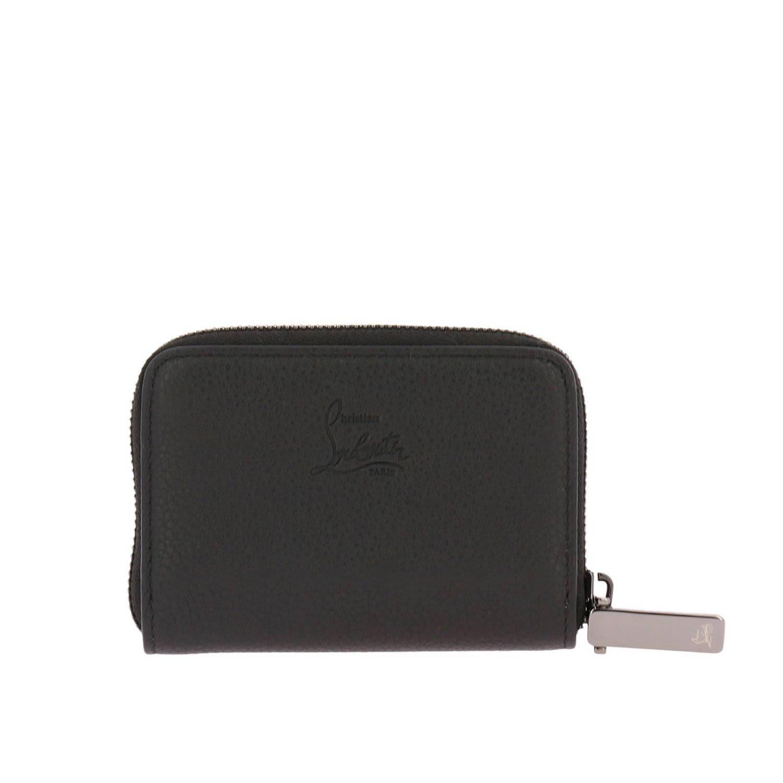 8019aabf8ea6 Christian Louboutin Wallet Wallet Men In Black
