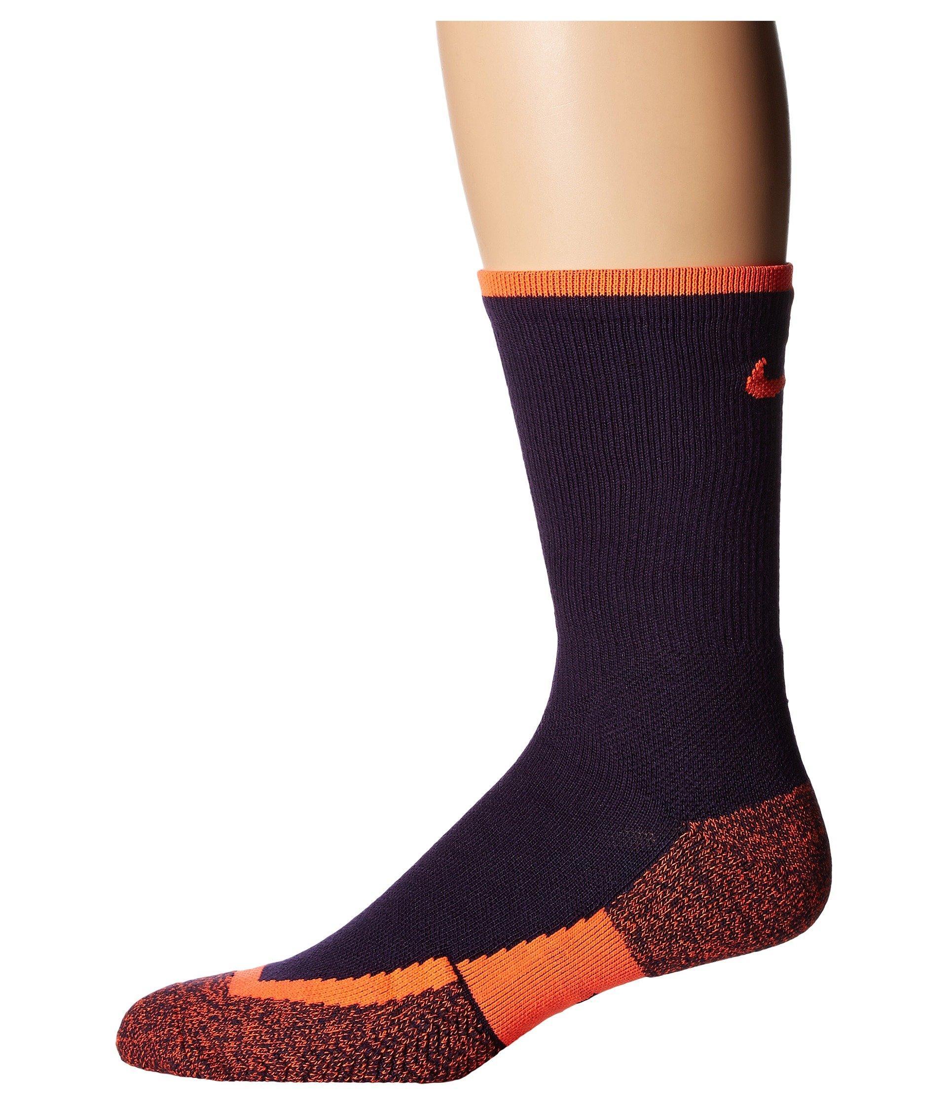 11d401d37 Nike NIKEGRIP Elite Crew Tennis Socks Black/Black/White Crew Cut Socks  Shoes Men