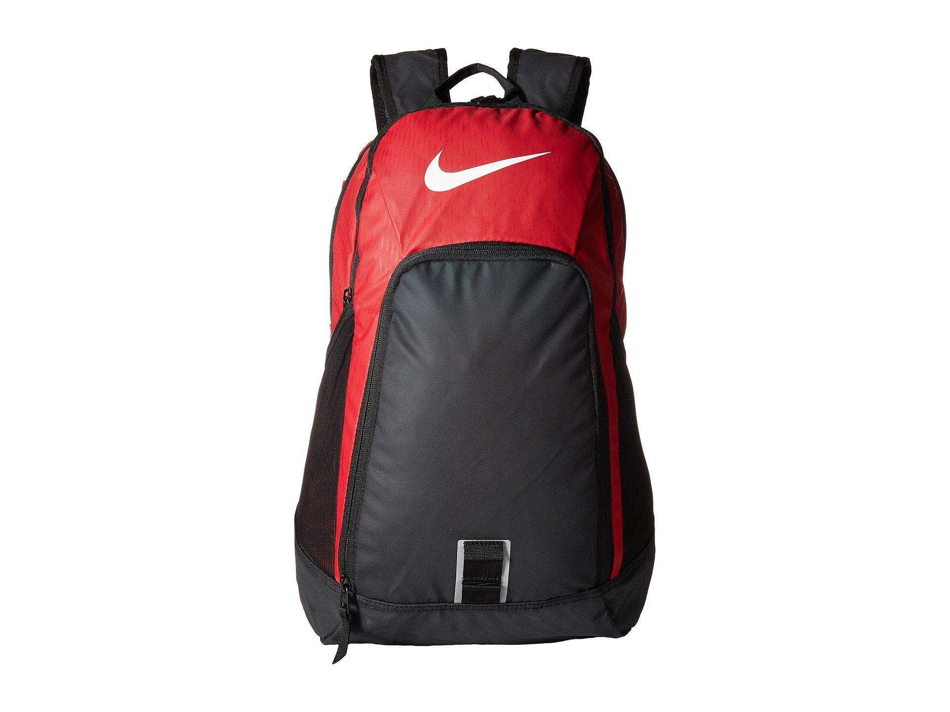 085268a164 Nike Alpha Adapt Rev Backpack In Gym Red Black White