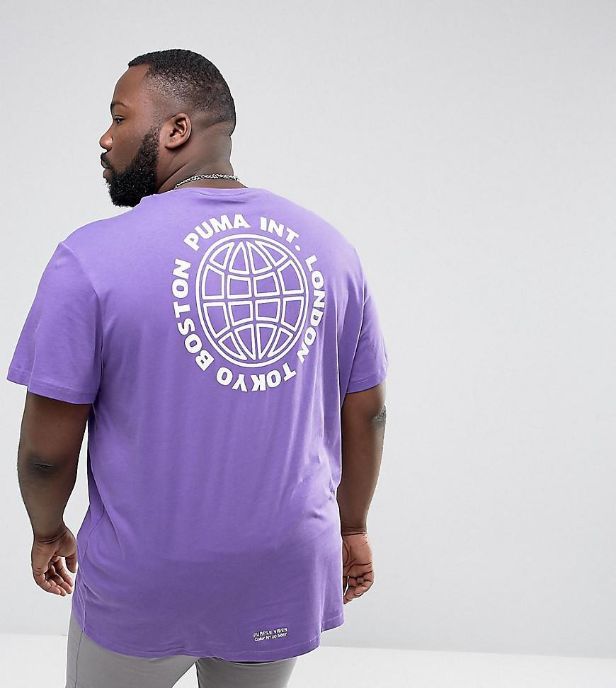 T Oversized Purple Plus Shirt LMVqzSpUG