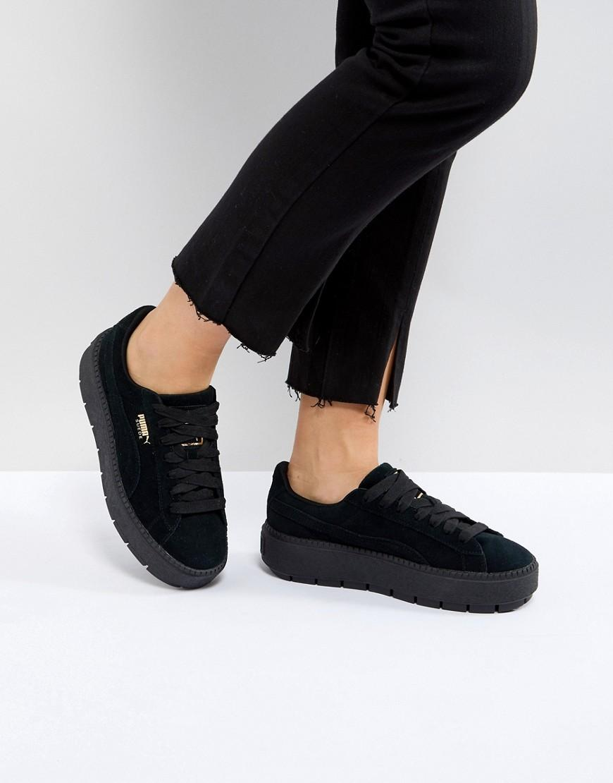 puma platform sneakers trace
