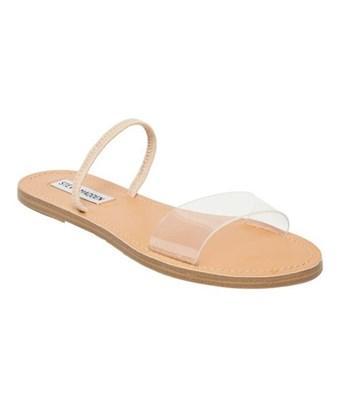 b05a70c4a15 Steve Madden Dasha Strappy Slide Sandal In Clear