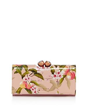 bf58da161879 Ted Baker Georgia Peach Blossom Bobble Matinee Wallet In Pink.  Bloomingdale s