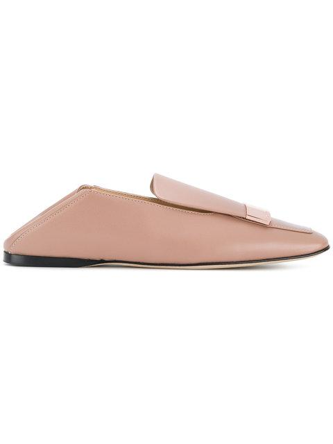 Sergio Rossi Sr1 Slippers In Pink