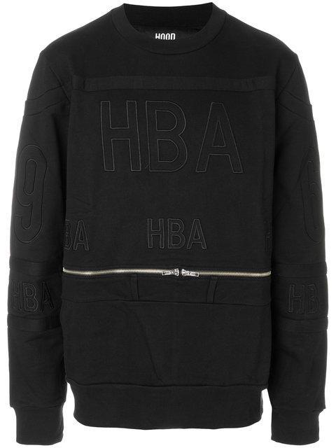 Hood By Air Belt Zip Sweatshirt