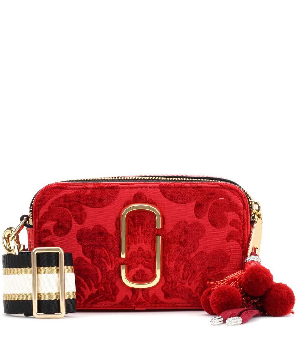 1a7e348db98 Marc Jacobs Snapshot Small Velvet Camera Bag In Red   ModeSens