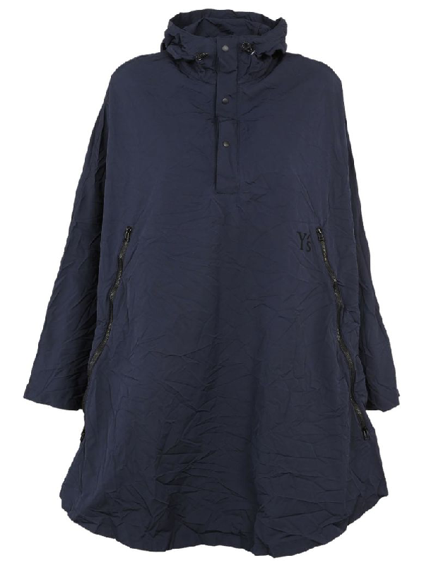 Y's Flared Jacket In Navy