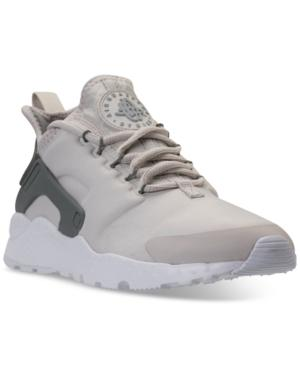 Women's Air Huarache Run Ultra Running Sneakers From Finish Line in GunsmokeVast Grey Partic