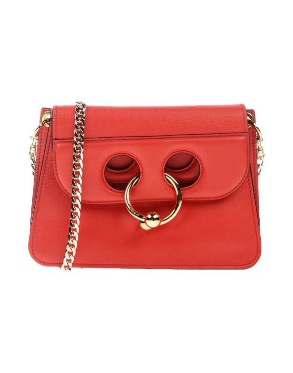 Jw Anderson Cross-body Bags In Red