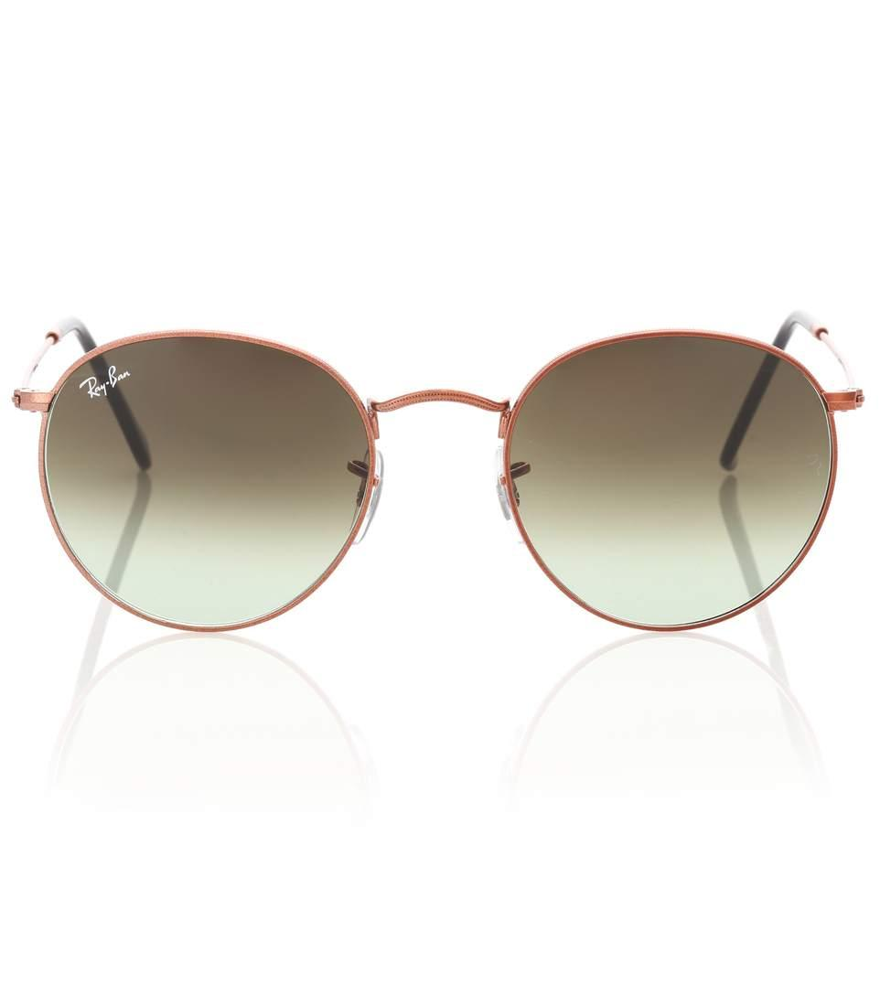 7b85214a0 Ray Ban Rb3447 Round Sunglasses | ModeSens