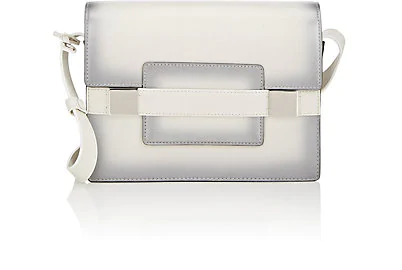 Delvaux Madame Pm Leather Shoulder Bag In Ivory