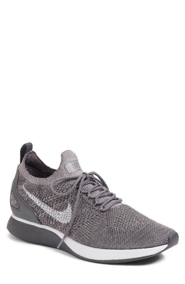 964e2438eefa Nike Air Zoom Mariah Flyknit Racer Sneaker In Gun Smoke  White  Grey  Grey