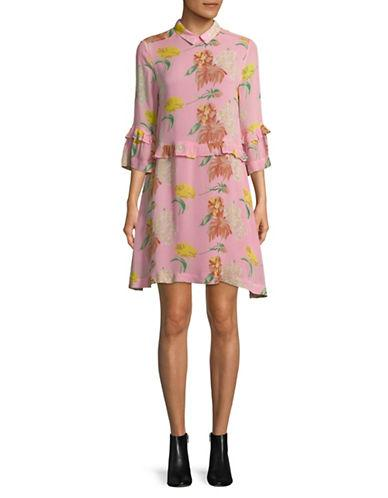 23052e1f Ganni Marceau Georgette Dress-Pink | ModeSens
