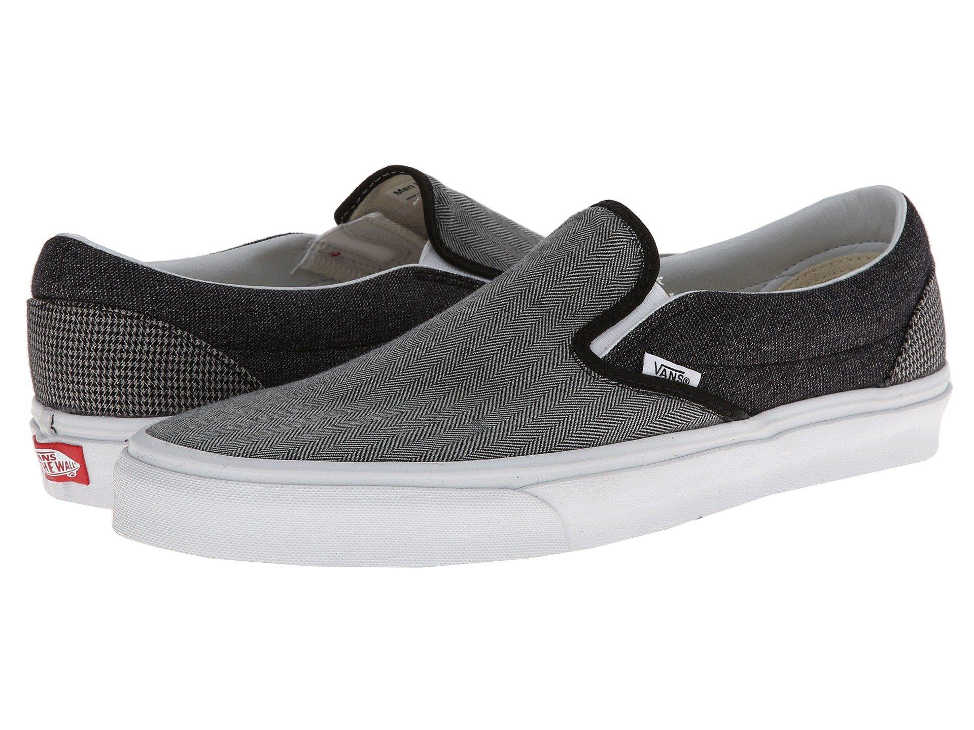 Canvas, leather, or suede slip-on deck shoe with classic Off the Wall outsole. Durable upper for long lasting wear. Padded collar and footbed for added ...