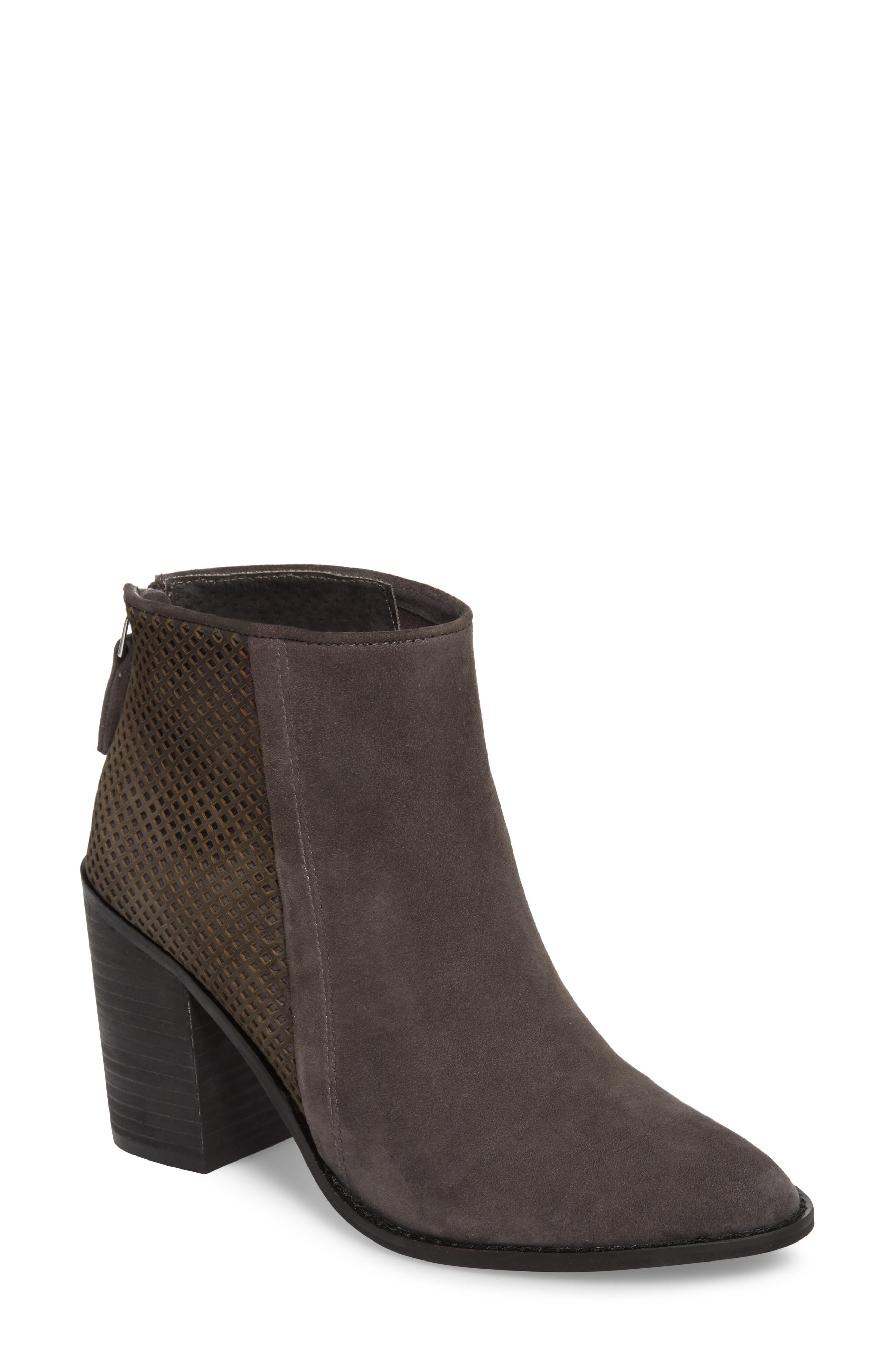 3bc561fd592 ... almond-toe bootie finished with allover geometric cutouts at the back  panels. Style Name  Steve Madden Replay Bootie (Women). Style Number   5513073.