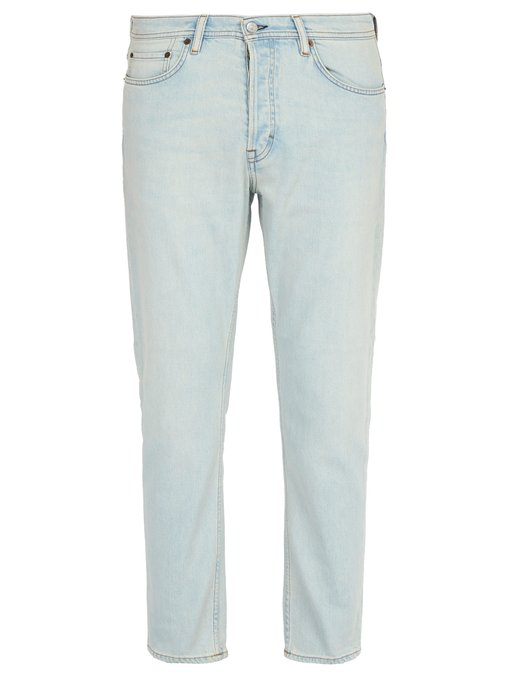 77508859 Max Slim-Fit Stretch-Cotton Jeans in Light Blue