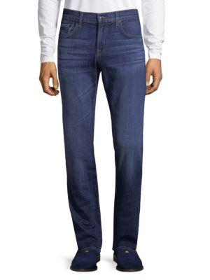 7 For All Mankind The Straight Jeans In Dimensional Circle