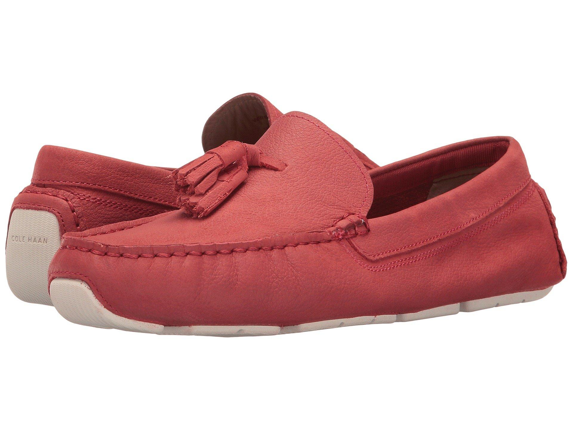 6758e3ced74 8894859. Update your casual weekend look with the Cole Haan® Rodeo Tassel  Driver. Available in a variety of upper materials. Slip-on construction.